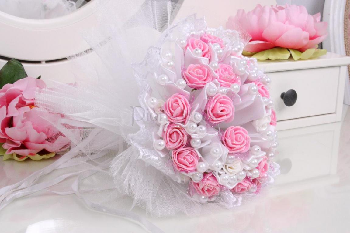 Эксклюзивные букеты для свадьбы своими руками